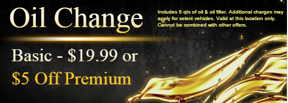 Oil Change Coupon in Newnan, GA